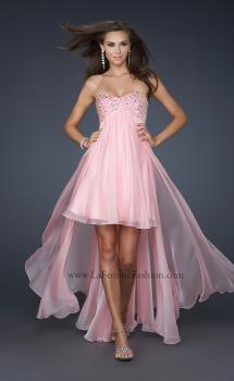 Picture of: Long Strapless Prom Gown with Beaded Bust, Style: 17502, Main Picture