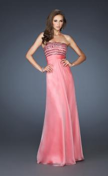Picture of: A-line Beaded One Shoulder Prom Dress with Ruching, Style: 18379, Main Picture