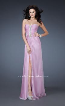 Picture of: Strapless Sweetheart Neckline Dress with Back Pleating, Style: 18571, Main Picture
