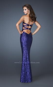 Picture of: Sweetheart Neckline Long Prom Dress with Sequins, Style: 18648, Main Picture