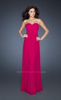 Picture of: Empire Waist Dress with Criss Cross Sweetheart Neckline, Style: 18752, Main Picture
