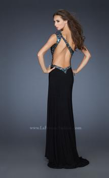 Picture of: Sexy One Shoulder Prom Dress with Front Slit and Open Back, Style: 18805, Main Picture