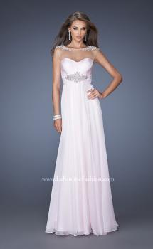 Picture of: Sweetheart Gown with Empire waist and Pearl Detailing in Pink, Style: 19977, Main Picture