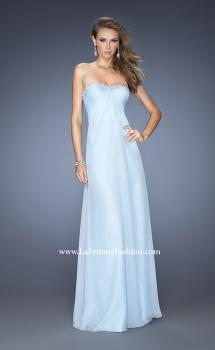 Picture of: Sweetheart Strapless Gown with Pearls and Jewel Trim, Style: 20143, Main Picture