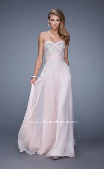Picture of: Embroidered Bodice Prom Dress with Sweetheart Neck, Style: 20953, Main Picture