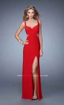 Picture of: Alluring Long Prom Dress with Side Cut Outs and Slit, Style: 21175, Main Picture