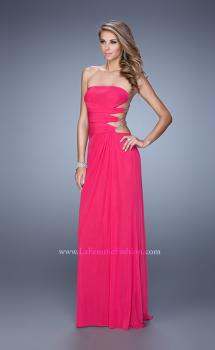 Picture of: Rhinestone Glamorous Prom Dress with Cut Outs, Style: 21197, Main Picture