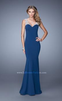 Picture of: Sweetheart Neckline Prom Dress with Sheer Straps, Style: 21221, Main Picture