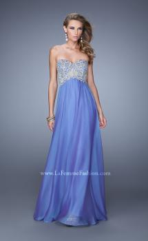 Picture of: Long Sweetheart Neckline Prom Dress with Empire Waist, Style: 21289, Main Picture