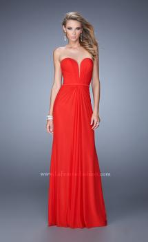 Picture of: Gathered Bodice Prom Dress with Sweetheart Neckline, Style: 21343, Main Picture