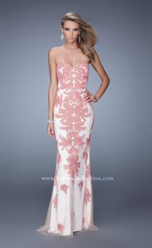 Picture of: Graceful Prom Dress with Embroidery and Rhinestones, Style: 21386, Main Picture