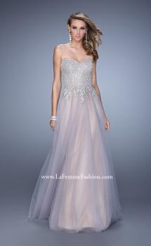 Picture of: Tulle Dress with Embroidered Bodice and Pockets, Style: 21431, Main Picture