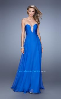 Picture of: Modern Strapless Gown with Stones and Embellishments, Style: 21499, Main Picture