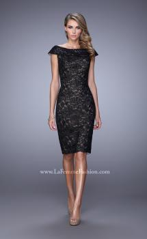 Picture of: Elegant Evening Dress with Sequins and Beading in Black, Style: 21649, Main Picture