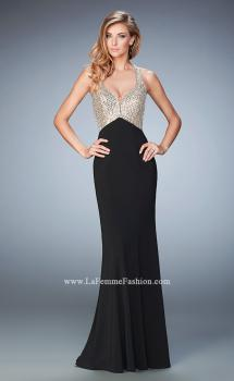 Picture of: Racer Back Mermaid Prom Dress with Crystals and Sequins, Style: 22189, Main Picture