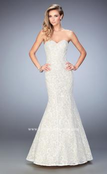 Picture of: Long Sequin Lace Prom Dress with Sweetheart Neck, Style: 22390, Main Picture