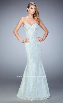 Picture of: Long Sequin Lace Prom Dress with Sweetheart Neckline, Style: 22431, Main Picture