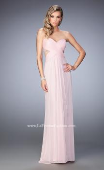 Picture of: Sweetheart Neckline Prom Dress with Beaded Detail in Pink, Style: 22470, Main Picture