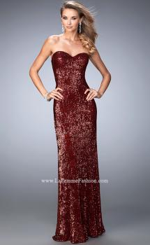Picture of: Long Sequin Prom Dress with Sweetheart Neckline, Style: 22525, Main Picture