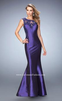 Picture of: Mermaid Prom Gown with Crystals and Beads, Style: 22723, Main Picture