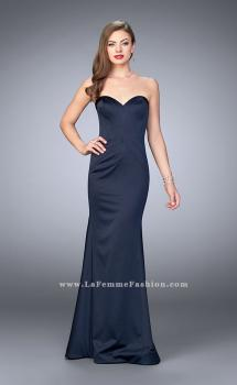 Picture of: Satin Mermaid Dress with Figure Flattering Seams, Style: 23197, Main Picture
