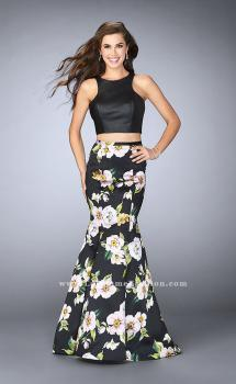 Picture of: Two Piece Mermaid Dress with Vegan Leather Top, Style: 23863, Main Picture