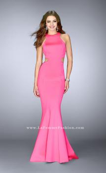 Picture of: High Neck Neoprene Dress with Side Cut Outs, Style: 24636, Main Picture