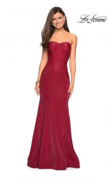 Picture of: Strapless Mermaid Prom Dress with Ruching, Style: 26999, Main Picture