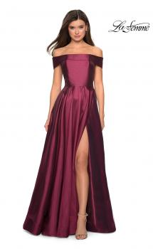 Picture of: Long Off The Shoulder Gown with Pockets, Style: 27005, Main Picture